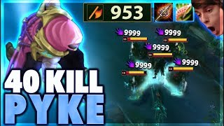 PYKE KILL RECORD BROKEN - BunnyFuFuu