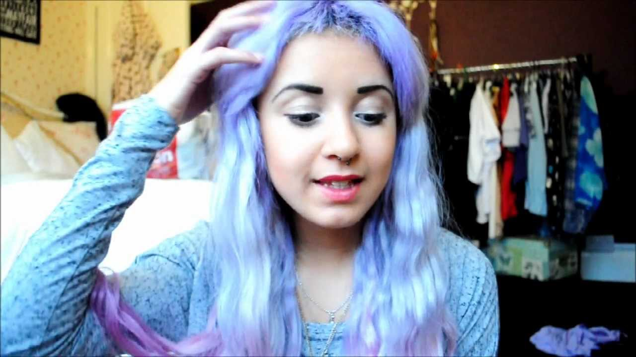 Ombre Hair Tumblr Blue And Pink MERMAID HAIR how to dye your