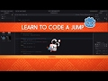 How to code JUMP mechanics - Godot tutorial thumbnail