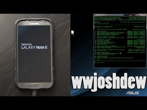 How To Flash Stock Recovery on the Samsung Galaxy Note 2 / II!