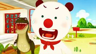 My Friend Trex 1 | kids dinosaur videos | Franky and Friends | Cartoon for kids