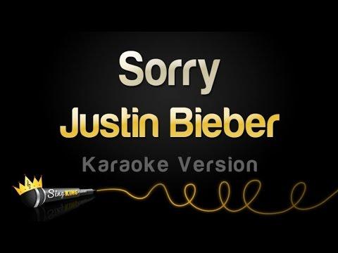 Justin Bieber - Sorry (Karaoke Version)