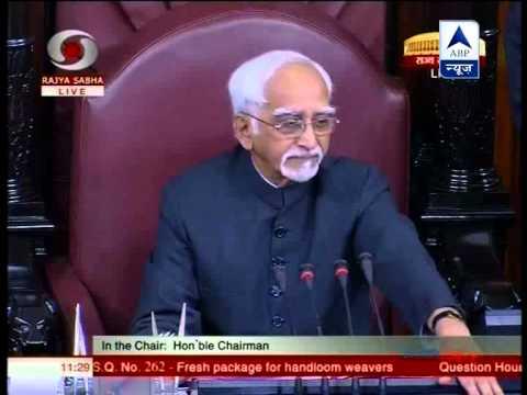 Mayawati stuns Rajya Sabha, questions chairman Hamid Ansari's absence