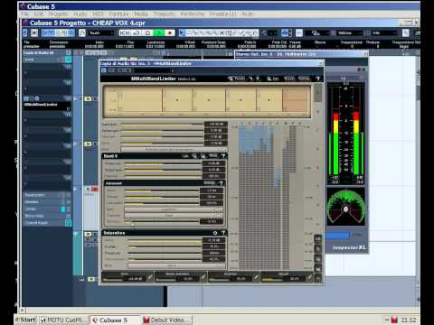 103) Cubase Tutorial feat. Meldaproduction: Il Limiter, cos' a cosa serve, come si utilizza
