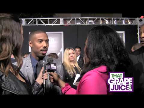 'Creed' K.O's Competition With $42 Million Debut / Michael B. Jordan Talks Exclusively To That Grape Juice