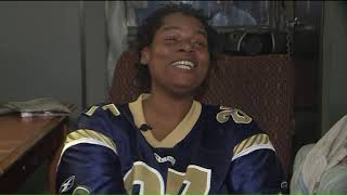 Homeless St. Louis woman overwhelmed with support after going viral