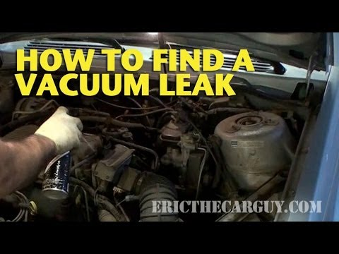 How To Find A Vacuum Leak - EricTheCarGuy