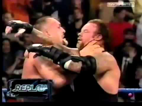 Handicap Match The Undertaker Vs Brock Lesnar And The Big Show Part 22 video