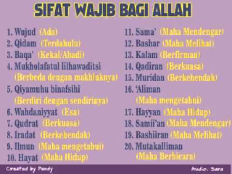 Sifat Wajib Bagi Allah (primary Gis Condet) video