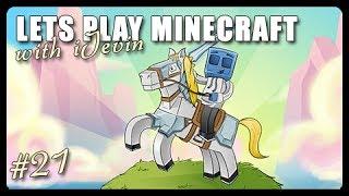 Let's Play Minecraft: VILLAGE LIGHTING! (Ep. 22) | iJevin