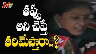 Police Arrests Congress Leader Vijayashanti in Warangal || Protest Over Inter Results