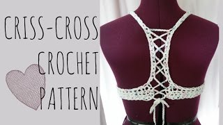 Crochet Criss-Cross Top Pattern