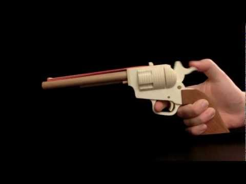 Colt SAA Rubberband Gun [HD]