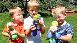 Cousin VS Cousin Water Fight