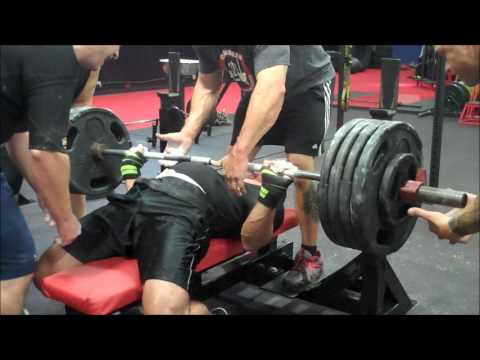 Bad Attitude Gym - Powerlifting Bench Press Sunday Training 8/19/12 Image 1