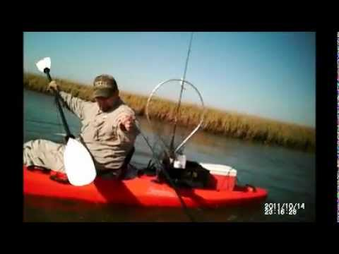 Awsome day Kayak Fishing, Gilchrist tx