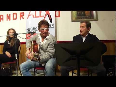 Al Rangone (alla chitarra) accompagna Roberto Rangone in Crapula Blues – Testo di Gianni Fozzi