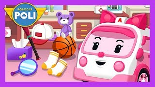 Help clean up!   Habit play for Kids   Robocar Poli Game