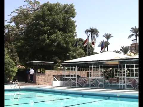 Egypt pool at the Old Cataract hotel.avi