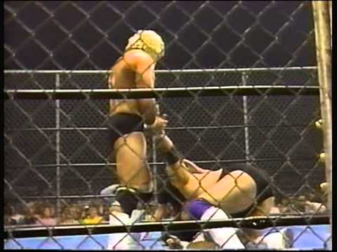 Magnum T.A. Vs. Wahoo McDaniel - Steel Cage