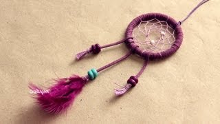 Atrapasueños // Dreamcatcher how-to | Craftingeek*