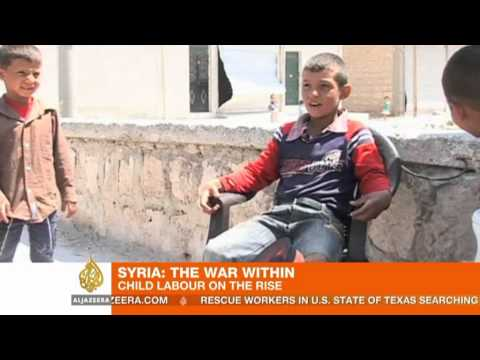 Child labour on the rise in Syria