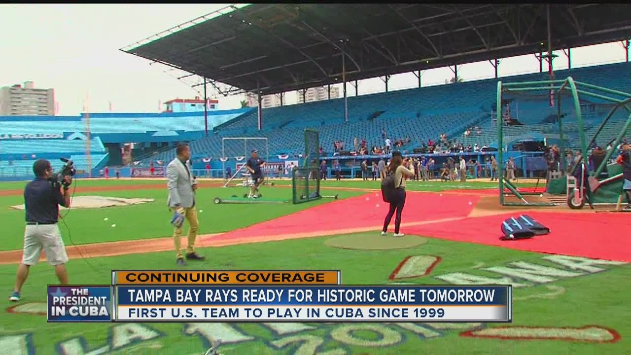 5PM REPORT: Tampa Bay Rays excited to make history in Cuba