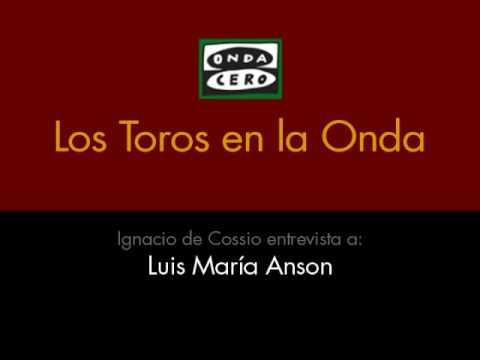 Cossío entrevista a Luis María Anson - Parte 1