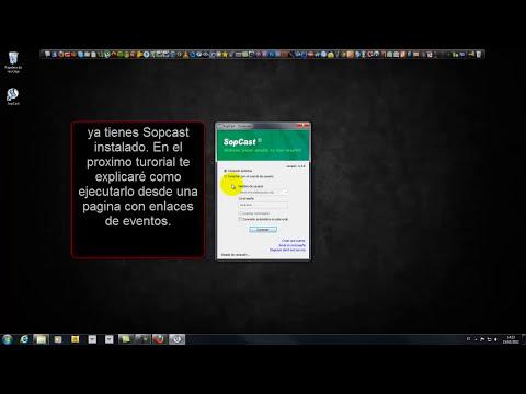 tutorial descarga e instalacion sopcast