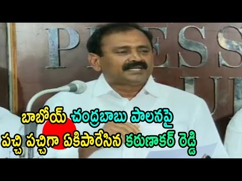 YSRCP Leader bhumana karunakar reddy Strong Reply Counter To Tdp Ap Govt Leaders  | Cinema Politics