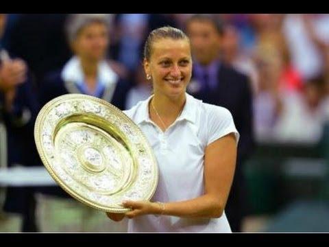 Petra Kvitova Wimbledon 2014 -  Kvitova WIN Wimbledon Title