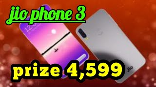 Jio phone 3 lanch date