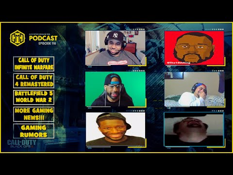 GMG SHOW LIVE 116 - CALL OF DUTY INFINITE WARFARE, COD 4 REMASTER, NINTENDO NX, AND MORE!