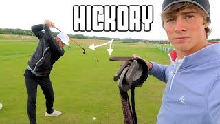 Hickory Golf Club Challenge at Oldest Course in The World