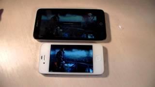 Сравнение Alcatel Pop 3 vs iPhone 4S (HD)