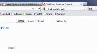 Delete a video from YouTube - How to