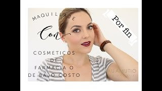 MAQUILLAJE CON PRODUCTOS DE FARMACIA     SMOKY EYE SIMPLE