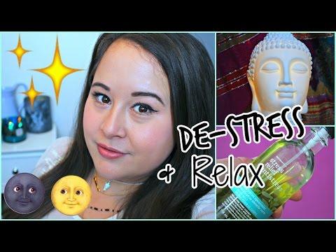 HOW TO DE-STRESS AND FINALLY RELAX! | YOGA, MEDITATION, & MORE!