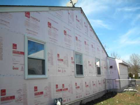 siding insulation done right