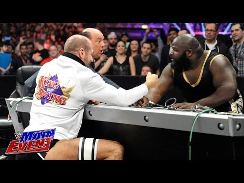 Mark Henry Vs. Cesaro - Arm Wrestling Match:  Wwe Main Event, May 20, 2014 video