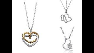 DIAMOND Pendant Heart Shape For Stylish Girls