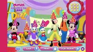 Mickey Mouse Clubhouse Full Episodes Games TV - Minnie Explores The Land of Dizz