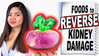 6 Foods to REVERSE Kidney Damage - Anti-inflammatory Foods Good for Kidney Health