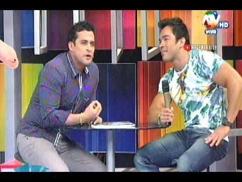 Hola A Todos: Christian Dominguez Y Andre Hablan De Vania Bludau 19/11/14