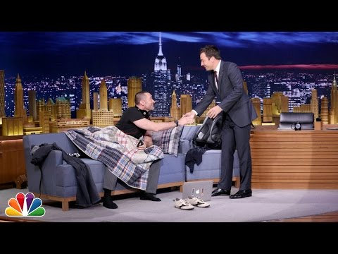 Hugh Jackman Crashes Jimmy's Monologue