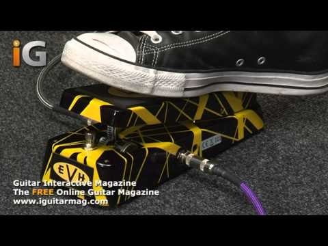 Cry Baby Wah Wah Pedal EVH Review - Guitar Interactive Magazine