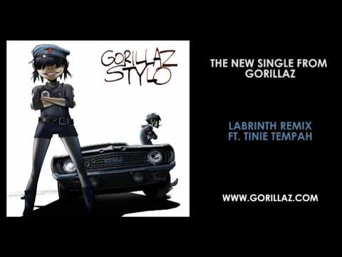 Gorillaz - Stylo (Labrinth Remix ft. Tinie Tempah)
