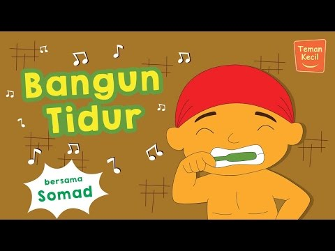 Lagu Anak Indonesia bangun Tidur Bersama Somad video