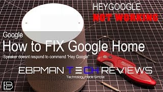 Google Home Doesn't Respond?  Google home doesnt listen? This is how I fixed mine!