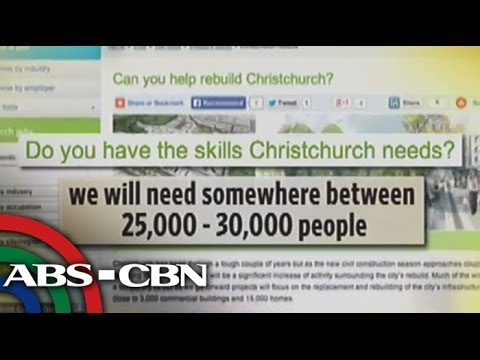 More jobs for Pinoys await in New Zealand